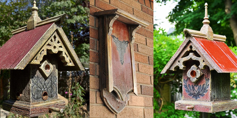 Brilliant Barns Into Birdhouses Unique Birdhouses Bird Feeders Interior Design Ideas Philsoteloinfo