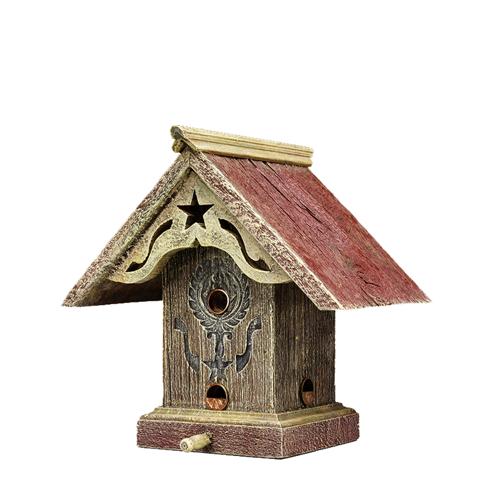Liberty Bird Feeder Barns Into Birdhouses