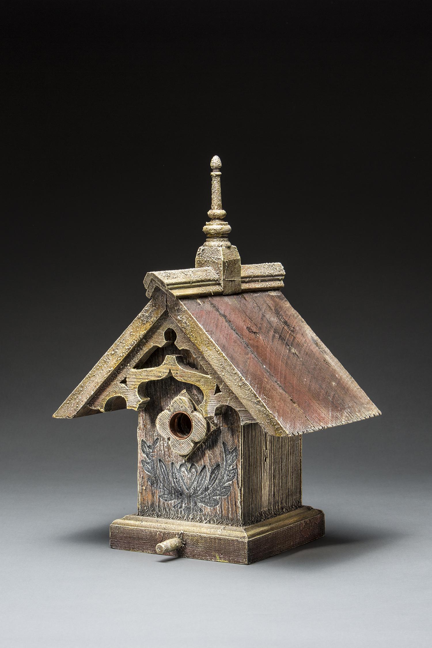 Gothic Birdhouse Barns Into Birdhouses