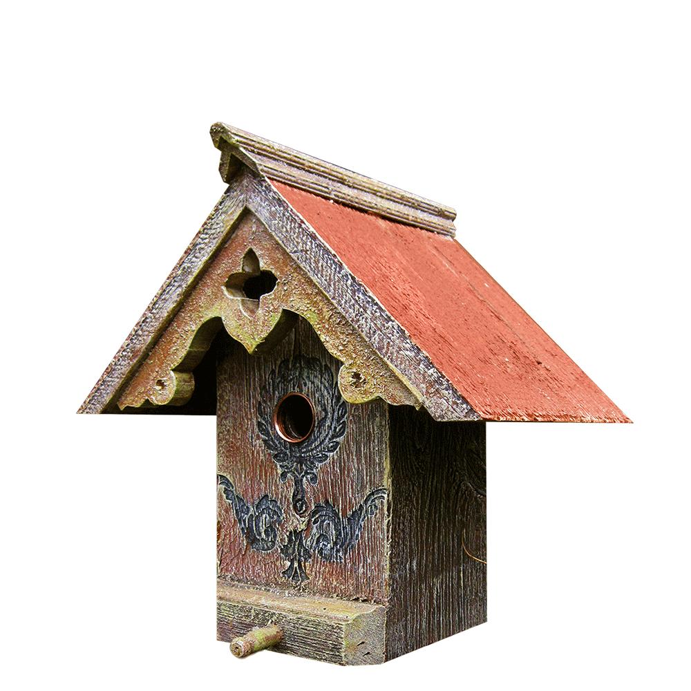 Tudor Birdhouse Barns Into Birdhouses